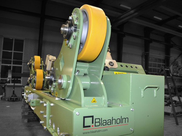 Blaaholm Flange to can solution Fit-up rotators 2